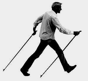 Скандинавская ходьба техника