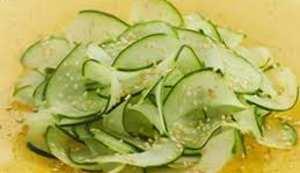 диетические блюда из огурцов