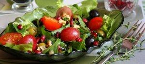 салаты с виноградом без майонеза