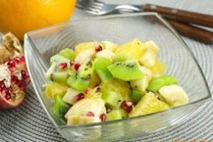 фруктовый салат с бананом