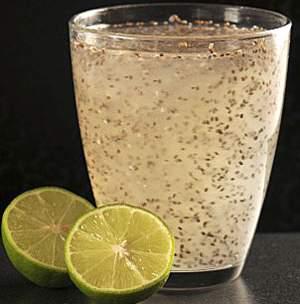 семена чиа - рецепт коктейля