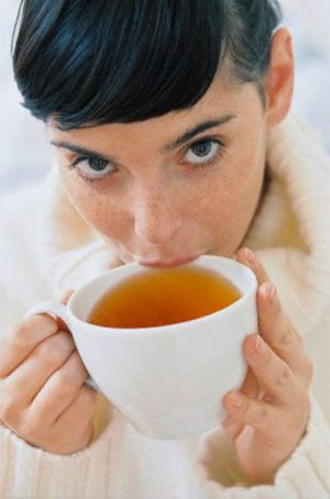 чёрный чай повышает или понижает давление