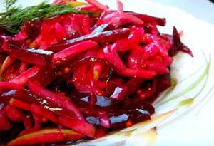 Рецепты здоровых блюд со свеклой