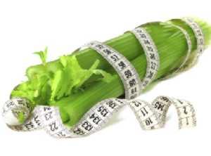 Применение сельдерея для похудения