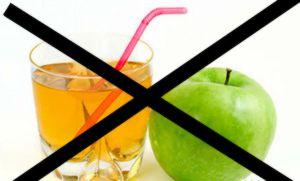 Кому противопоказан яблочный сок