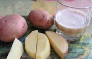 Картофельный сок на диете