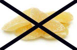 Кому противопоказан имбирь в сахаре