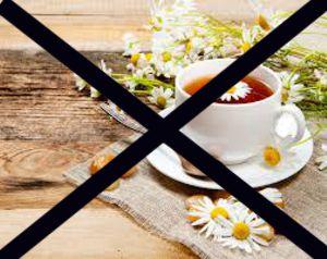 Противопоказания для ромашкового чая