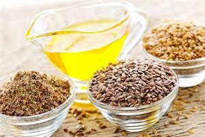Оптимальные дозы применения льняного масла