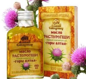 польза и вред масла расторопши