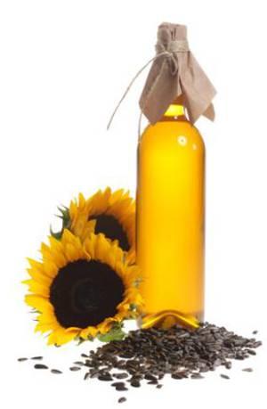 рафинированное и нерафинированное подсолнечное масло