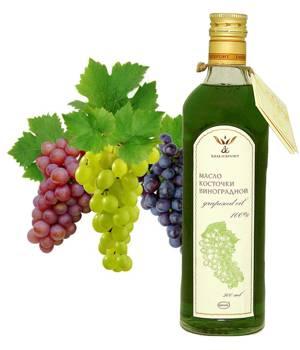 Химический состав масла из косточки винограда