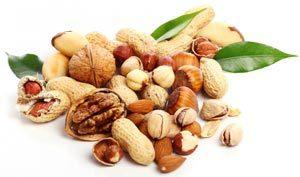 Белки в орехах и бобовых