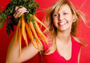 Богатые каротином овощи