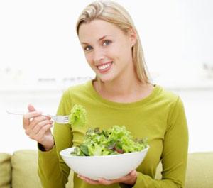 Витамин B2 в салатах для похудения