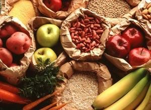 Пищевые волокна в продуктах питания таблица