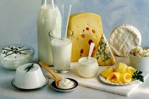 Кальций в молоке и кисломолочных продуктах