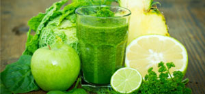 Рибофлавин в соках с зеленью