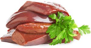 Содержание витамина В12 в печени