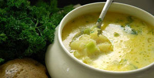 Суп при калиевой диете