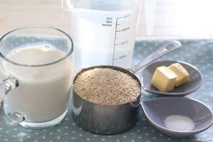 каков рецепт приготовления ячневой каши на молоке