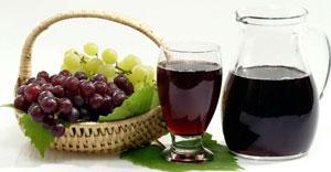 Витамин B6 в свежевыжатом виноградном соке