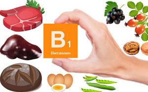 В каких продуктах питания содержится витамин В1