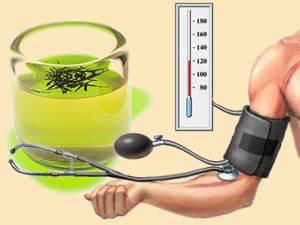 Зеленый чай скорее повышает давление или понижает