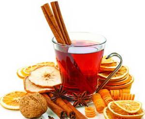 Каков рецепт приготовления яблочного чая с апельсином и корицей