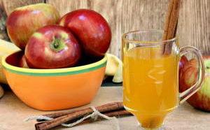 Как приготовить яблочный чай с апельсином и корицей