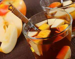 Как следует пить яблочный чай с апельсином и корицей