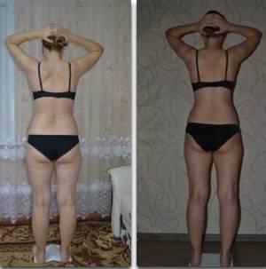 Алина с помощью бодифлекса похудела на 5 кг