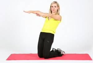 Дыхательная гимнастика оксисайз – упражнение Наклон назад