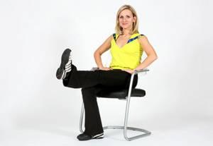 Дыхательная гимнастика оксисайз – упражнение Подъем ноги вверх