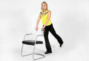 Дыхательная гимнастика оксисайз – упражнение Подъем ноги назад