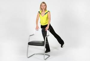 Дыхательная гимнастика оксисайз – упражнение Подъем ноги по диагонали