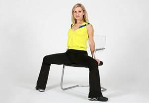 Дыхательная гимнастика оксисайз – упражнение Сумо на стуле