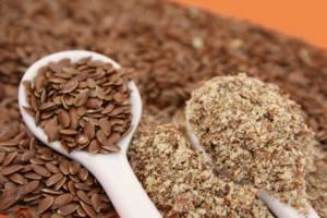 Калорийность и химический состав семян льна