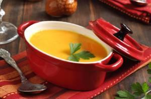 Калорийность супа-пюре из тыквы