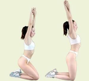 Основные упражнения калланетики. Волна бедрами