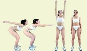 Основные упражнения калланетики. Наклоны вперед