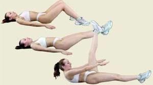 Основные упражнения калланетики. Упражнение для пресса