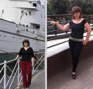 Рита, практикуя бодифлекс, сбросила 6 кг