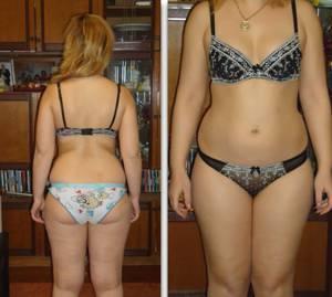 отзывы похудевших на кефире за месяц