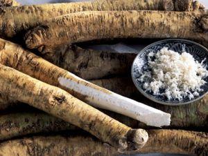 Сферы применения корней и листьев хрена в кулинарии