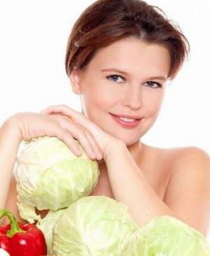 почему именно белокачанную капусту используют для похудения
