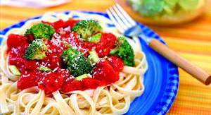 Каков рецепт приготовления макарон с куриным фаршем для средиземноморской диеты для похудения