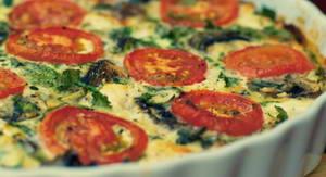 Каков рецепт овощной запеканки для средиземноморской диеты для похудения