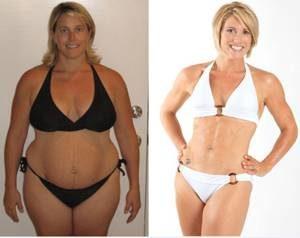 Благодаря калланетике Екатерина смогла существенно похудеть
