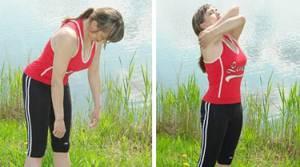 Дыхательная гимнастика Александры Стрельниковой - упражнение Большой маятник